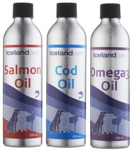 variedad aceites perros